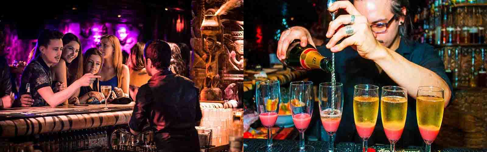 Enjoy dancing and tasteful drinks at Shaka Zulu